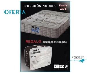 COLCHÓN NORDIK EN ARTEVALLE MOBILIARIO