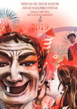 Cartel Fiestas Zizur