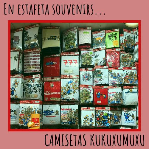 oferta CAMISETAS KUKUXUMUSU – SOUVENIRS ESTAFETA