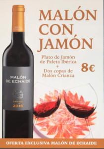 MALÓN CON JAMÓN - TAPERÍA IBÉRICA
