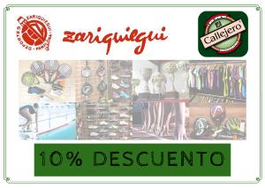 oferta BONO DESCUENTO – DEPORTES ZARIQUIEGUI
