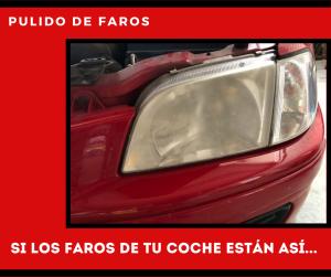 PULIDO DE FAROS - NEUMÁTICOS DÍEZ