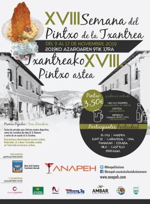 XVIII SEMANA DEL PINTXO DE LA TXANTREA – 2019