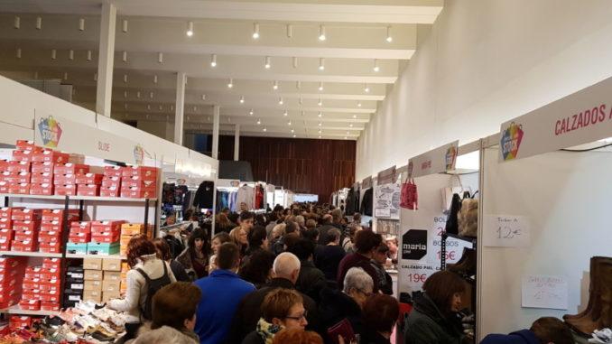Cerca de 200 comercios participan en una nueva edición de la feria de descuentos Pamplona Stock