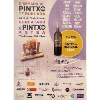 Establecimientos hosteleros de Burlada celebran, hasta el 15 de marzo, la X Semana del Pintxo