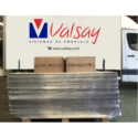 Valsay Sistemas de Embalaje colabora con el Colegio Oficial de Enfermería de Navarra enviado material para fabricar protección para el personal sanitario