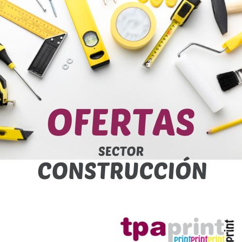 oferta IMPRENTA RÁPIDA TPA PRINT – SECTOR CONSTRUCCIÓN
