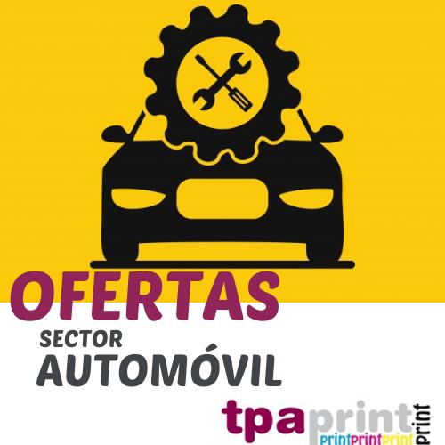 oferta IMPRENTA RÁPIDA TPA PRINT – SECTOR AUTOMÓVIL