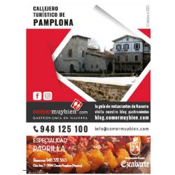 CALLEJERO TURÍSTICO DE PAMPLONA