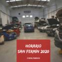 ENZO MOTOR - HORARIO SAN FERMÍN
