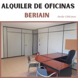 ALQUILER OFICINAS RECIÉN REFORMADAS EN BERIAIN