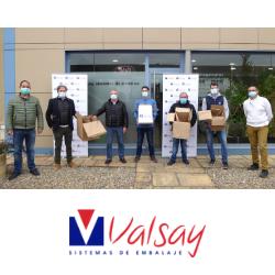 Valsay Sistemas de Embalaje y varias empresas de distribución y hostelería de Navarra, apuestan por los embalajes sostenibles