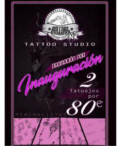 Oferta Inauguración 2 tatuajes - Bulldog Ink Tattoo Studio