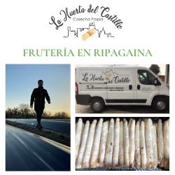 """Espárrago de Navarra """"Más fresco que nunca"""" - LA HUERTA DEL CASTILLO"""