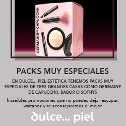 DESCUBRE LOS PACKS DE COSMÉTICA ESPECIAL EN DULCE... PIEL ESTÉTICA