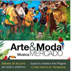 SÁBADO DE ARTE & MODA EN ESPACIO CREATIVO ANA PAGOLA