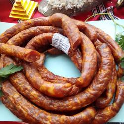 Produse Romanesti presenta una oferta en salchichas ahumadas