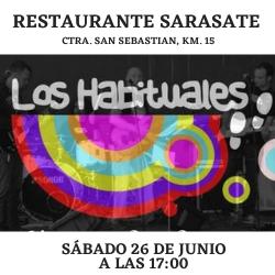 CONCIERTO DE LOS HABITUALES EN SARASATE TRUCK STOP