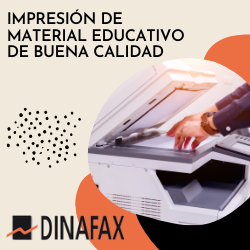 IMPRESIÓN DE MATERIAL EDUCATIVO DE BUENA CALIDAD CON KYOCERA-DINAFAX